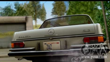 Mercedes-Benz 300 SEL 6.3 (W109) 1967 IVF АПП for GTA San Andreas right view