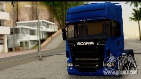 Scania G 4х6 for GTA San Andreas back left view