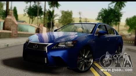 Lexus GS350 for GTA San Andreas