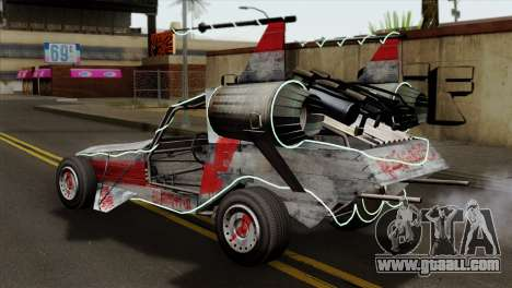 GTA 5 Space Docker IVF for GTA San Andreas left view