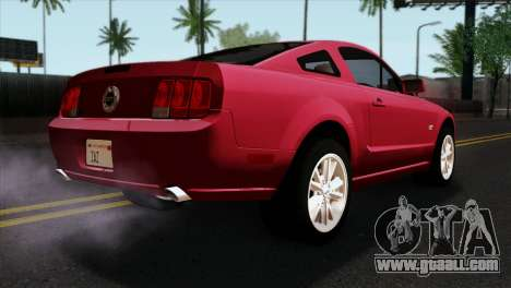 Ford Mustang GT PJ Wheels 2 for GTA San Andreas left view
