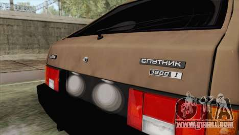 VAZ 2108 for GTA San Andreas back view