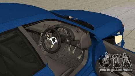 Nissan Skyline R32 Sedan for GTA San Andreas back left view