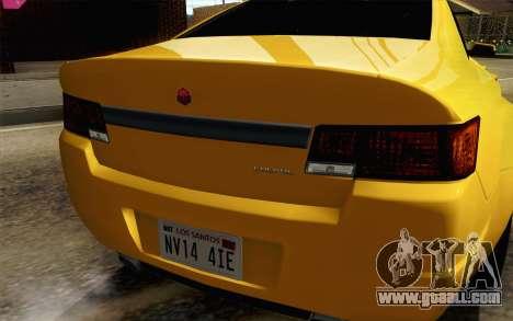 GTA 5 Cheval Fugitive IVF АПП for GTA San Andreas back view