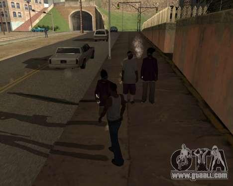 Shadows Settings Extender 2.1.2 for GTA San Andreas forth screenshot