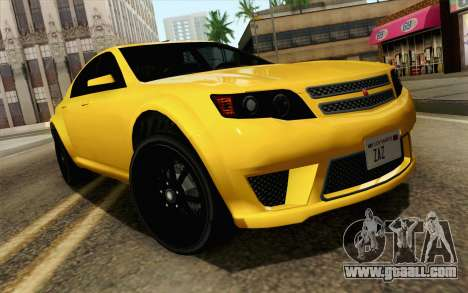 GTA 5 Cheval Fugitive IVF АПП for GTA San Andreas