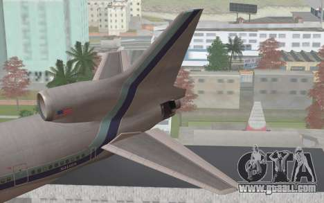 Lookheed L-1011 Eastern Als for GTA San Andreas back left view