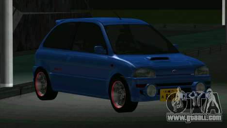 Subaru Vivio RX-R for GTA San Andreas left view