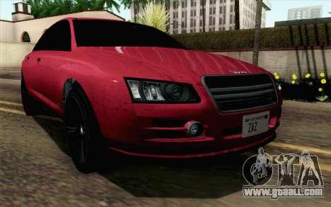 GTA 5 Obey Tailgater v2 SA Style for GTA San Andreas