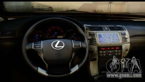 Lexus GX460 for GTA San Andreas inner view