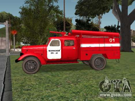 ZIL 164 Fire for GTA San Andreas left view