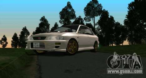 Subaru Impreza Sports Wagon WRX STI for GTA San Andreas