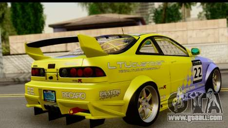 Acura Integra Type R 2001 for GTA San Andreas left view