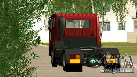 Nissan Diesel Bigthumb CK for GTA San Andreas back left view