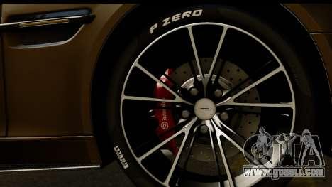 Aston Martin Vanquish 2013 Road version for GTA San Andreas right view