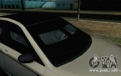 GTA 5 Karin Kuruma v2 Armored SA Mobile for GTA San Andreas back view