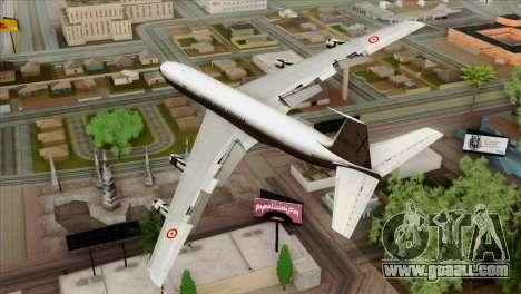 Boeing 707-300 Fuerza Aerea Espanola for GTA San Andreas left view