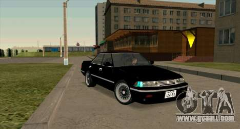 Toyota Mark II 2.5GT TwinTurbo (JZX81) for GTA San Andreas back view