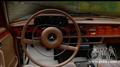 Mercedes-Benz 300 SEL 6.3 (W109) 1967 IVF АПП for GTA San Andreas inner view