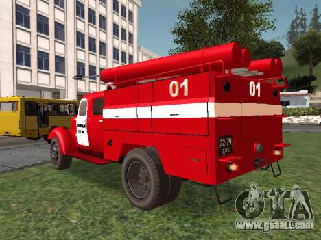 ZIL 164 Fire for GTA San Andreas back left view