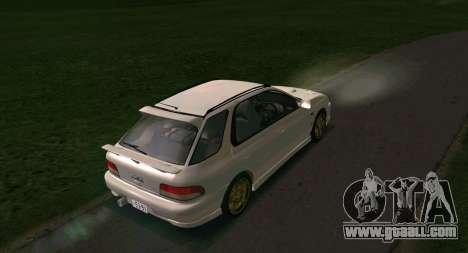 Subaru Impreza Sports Wagon WRX STI for GTA San Andreas right view