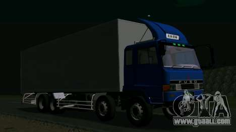 Mitsubishi Fuso The Great for GTA San Andreas back left view