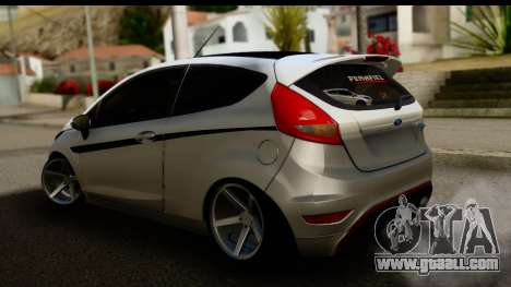 Ford Fiesta for GTA San Andreas left view