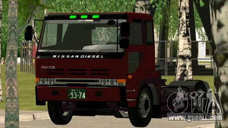 Nissan Diesel Bigthumb CK for GTA San Andreas right view