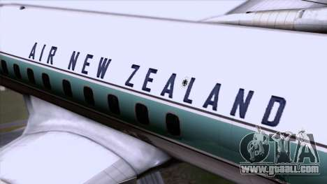 L-188 Electra Air New Zealand for GTA San Andreas back view