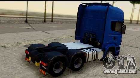 Scania G 4х6 for GTA San Andreas left view