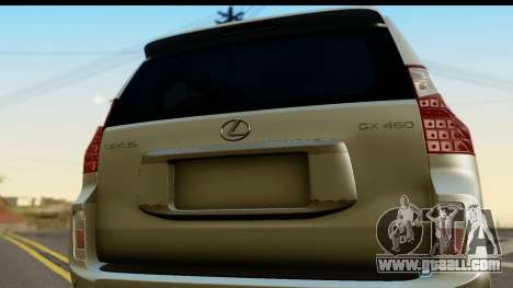 Lexus GX460 for GTA San Andreas right view