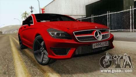 Mercedes-Menz CLS63 AMG for GTA San Andreas
