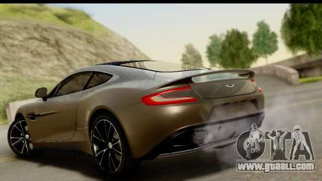 Aston Martin Vanquish 2013 Road version for GTA San Andreas left view