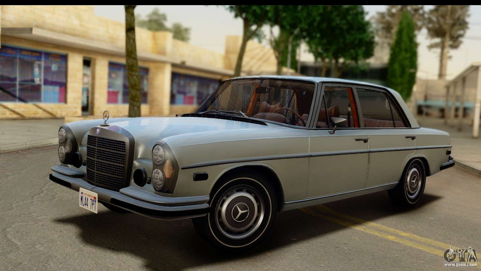 Mercedes benz 300 sel 6 3 w109 1967 ivf for gta san for Mercedes benz 6 3