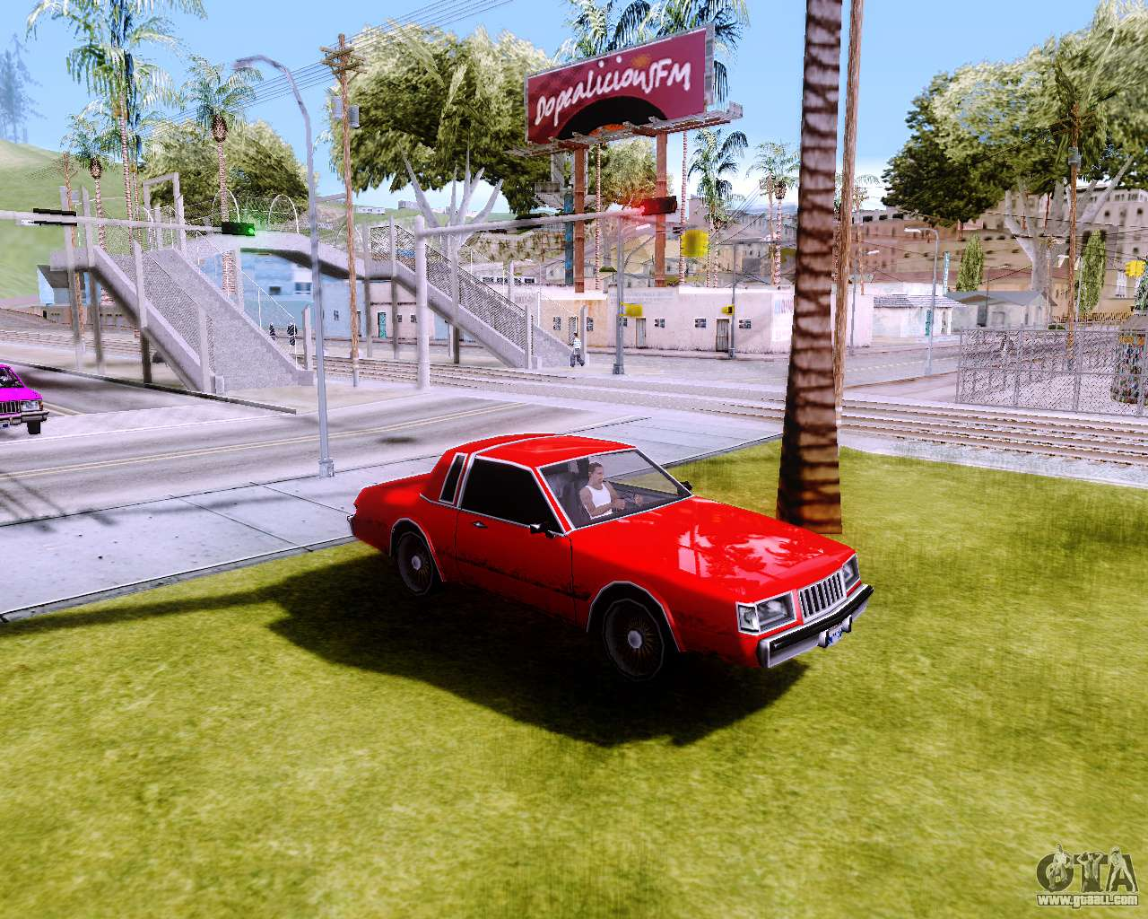 gta sa android low graphics mod