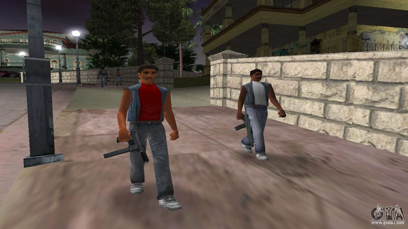 New weapons, gangs for GTA Vice City