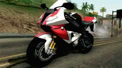 BMW S1000RR HP4 v2 Red for GTA San Andreas