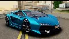 GTA 5 Zentorno Cabrio