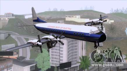 Lockheed L-188 Electra for GTA San Andreas