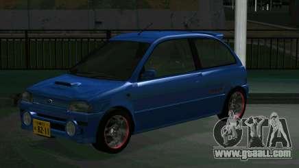 Subaru Vivio RX-R for GTA San Andreas