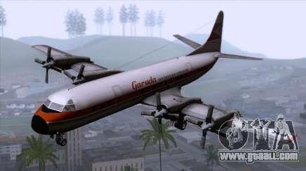 L-188 Electra Garuda Indonesia for GTA San Andreas