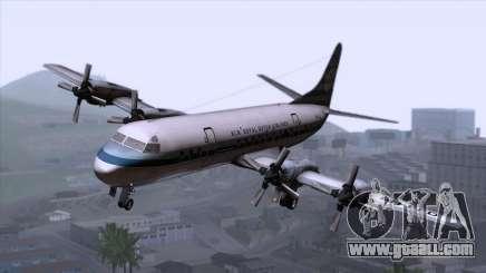 L-188 Electra KLM v2 for GTA San Andreas