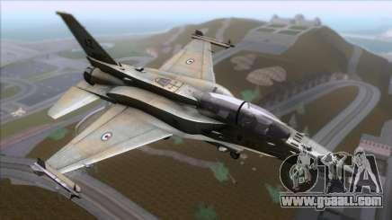 F-16F Fighting Falcon United Arab Emirates for GTA San Andreas