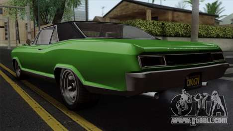 GTA 5 Albany Buccaneer IVF for GTA San Andreas left view