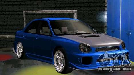 Subaru Impreza WRX for GTA San Andreas