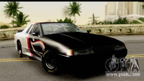 Elegy NASCAR PJ for GTA San Andreas inner view