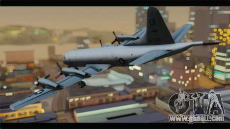Lockheed P-3C Orion US Navy VP-24 for GTA San Andreas left view