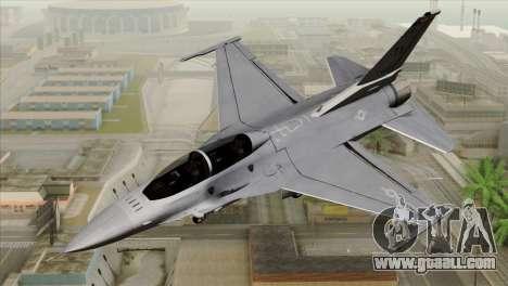 F-16D Fighting Falcon for GTA San Andreas