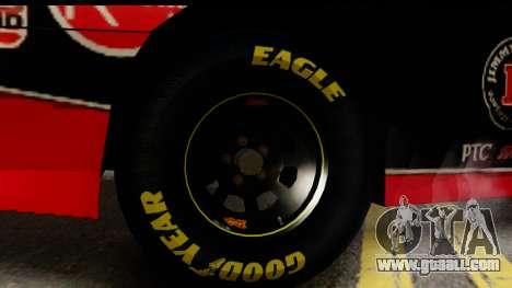 Elegy NASCAR PJ for GTA San Andreas back left view