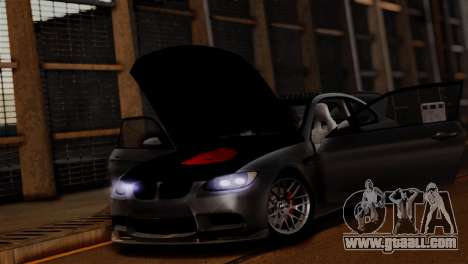 BMW M3 E92 GTS 2012 v2.0 Final for GTA San Andreas interior
